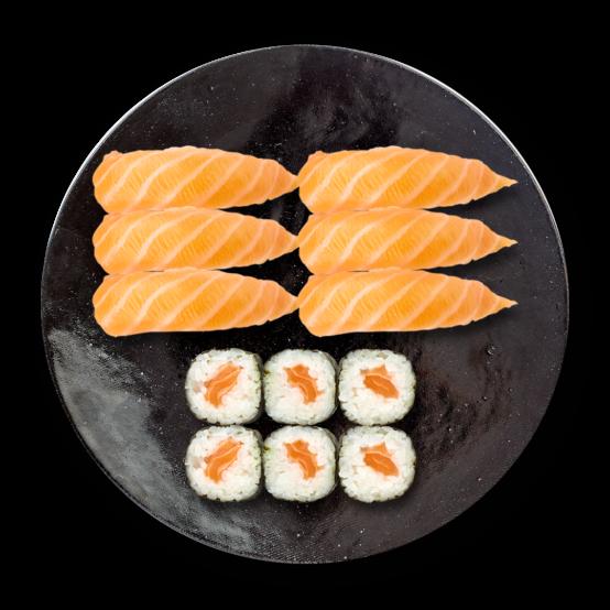 Sushi et Maki Saumon